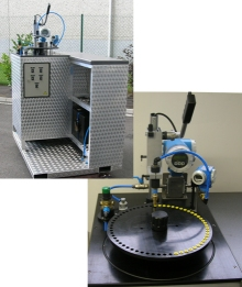 Test bench to measure output nozzles