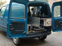 Fourgonnette pour le transport - châssis compact